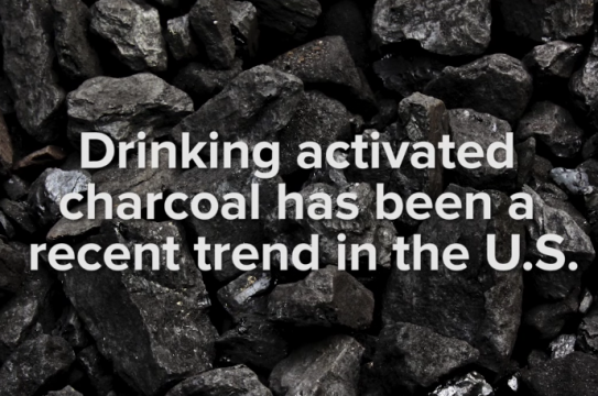 Charcoal Drinking